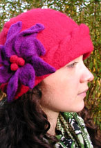 Cabled Felt Cloche Pattern
