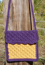 Little Girl's Cobblestone Crochet Purse Pattern