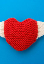 Wings of Love Heart Pattern