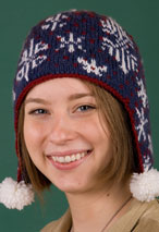 Snowflake Dance Hat Pattern