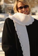 Icicles Crochet Scarf Pattern