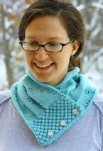 Vintage Rose Cowl Pattern