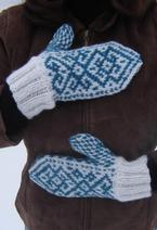 Winter Tracery Mittens Pattern