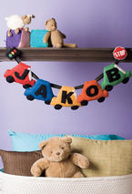 Personalized Pennants - Cars Pattern