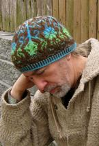 Thistle and Shamrock Beanie Pattern