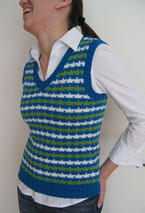 Colorful Stripes Vest Pattern