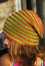 Yo-Yo Crochet Hat  Pattern
