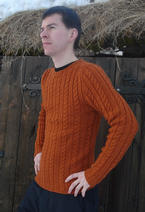 Ribbed Cable Pullover Pattern