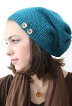 Sock Slouch Crochet Hat Pattern