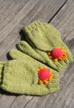 Blooming Convertible Mittens & Gloves Pattern
