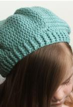 Easy Breezy Crochet Slouch Tam Pattern