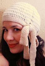 Crochet Millie Side Tie Cloche Pattern