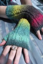 Art Deco Mitts Pattern