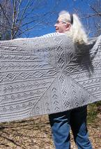 Lady of the Canyon Shawl Pattern