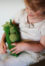 Cotton Peas in Pod Crochet Toy Pattern