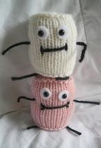Marshmallow People Pattern