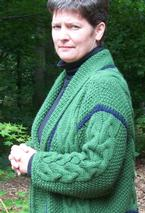 Ever Warm … Ever cozy … Ever Green Jacket Pattern