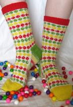 Candy Shop Socks Pattern