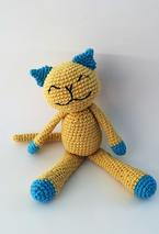 Cute Cotton Crochet Kitty Pattern