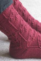 Snowdrop Socks Pattern