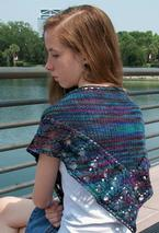 Assemblé, a Shawl in Two Sizes Pattern