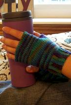 Imagination Fingerless Crochet Gloves Pattern