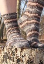 Snow Drift Socks Pattern