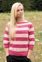 Seamless boatneck Sweater Pattern