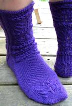 Wings On My Toes Socks Pattern