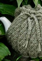Spiral Rib Tea Cozy Pattern