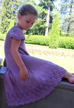 Pinnate Dress Pattern