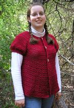 Fall to Winter Crochet Cardi Pattern