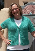 Easy Breezy Short Sleeve Cardigan Pattern