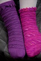 Side Stitch Socks Pattern