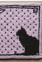 Cat Silhouette Potholder Pattern