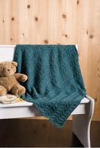 Twin Leaf Baby Blanket Pattern