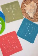 Summer Fun Dishcloths  Pattern