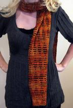 Embossed Scarf Pattern