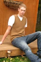 Helmsley Men's Vest Pattern