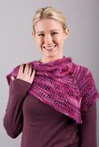 Friendliest Flower Shawl Pattern