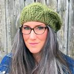 Bixby Cabled Crochet Beret Pattern
