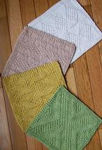 #1 Really Reversible Dishcloths Set of 4 Pattern