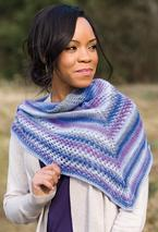 Asymmetry Shawl  Pattern