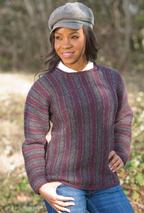 Striped Square-Neck Sweater Pattern
