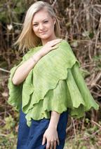 Gingko Biloba Shawl in 3 sizes Pattern
