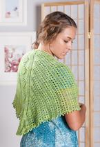 Green Apples Lace Scarf Pattern