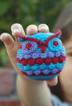 Hootie Who Owl Crochet Ornament Pattern