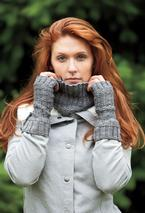 Linear Cowl & Fingerless Mitts Pattern