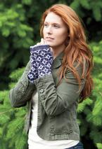 Damask Mitts Pattern