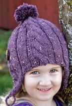 Coffee Bean Earflap Hat Pattern
